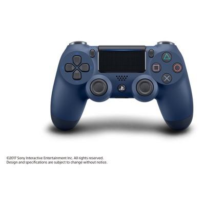 dualshock 4 wireless controller midnight blue playstation 4