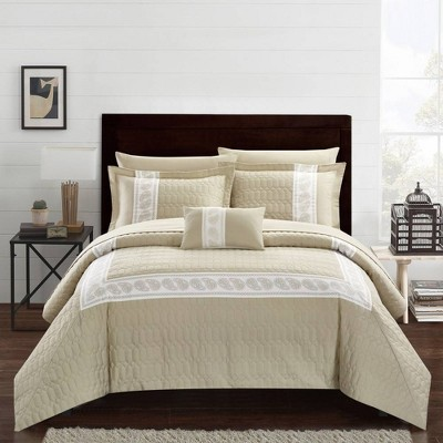 Chic Home Design Mason Bed In A Bag Comforter Set