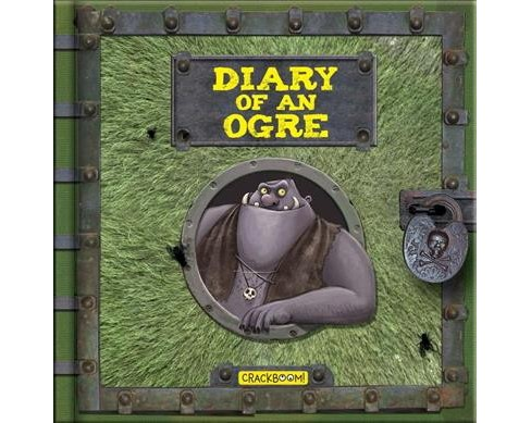 Diary of an Ogre -  (Dear Diary) by Valeria Davila & Monica  Lopez (Hardcover) - image 1 of 1