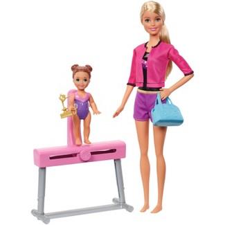 Barbie Career Gymnastics Coach Doll & Playset