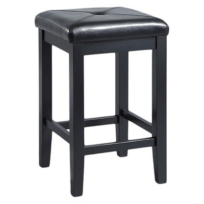 "Set of 2 24"" Square Counter Height Barstools - Crosley"