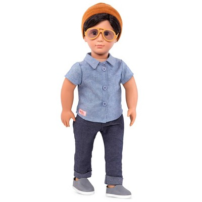 """Our Generation Franco with Sunglasses 18"""" Boy Doll"""