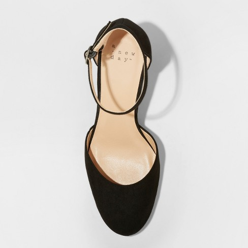 e9523ea5453 Women s Becky Microsuede Closed Toe Wedge Pumps - A New Day™ Black. Shop  all A New Day