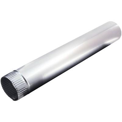 """Deflect-O Deflecto Dp244 4"""" X 24"""" Aluminum Pipe LAM229"""