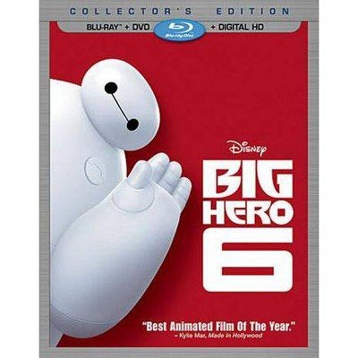 Big Hero 6 (2 Discs)(Includes Digital Copy)(Blu-ray/DVD)