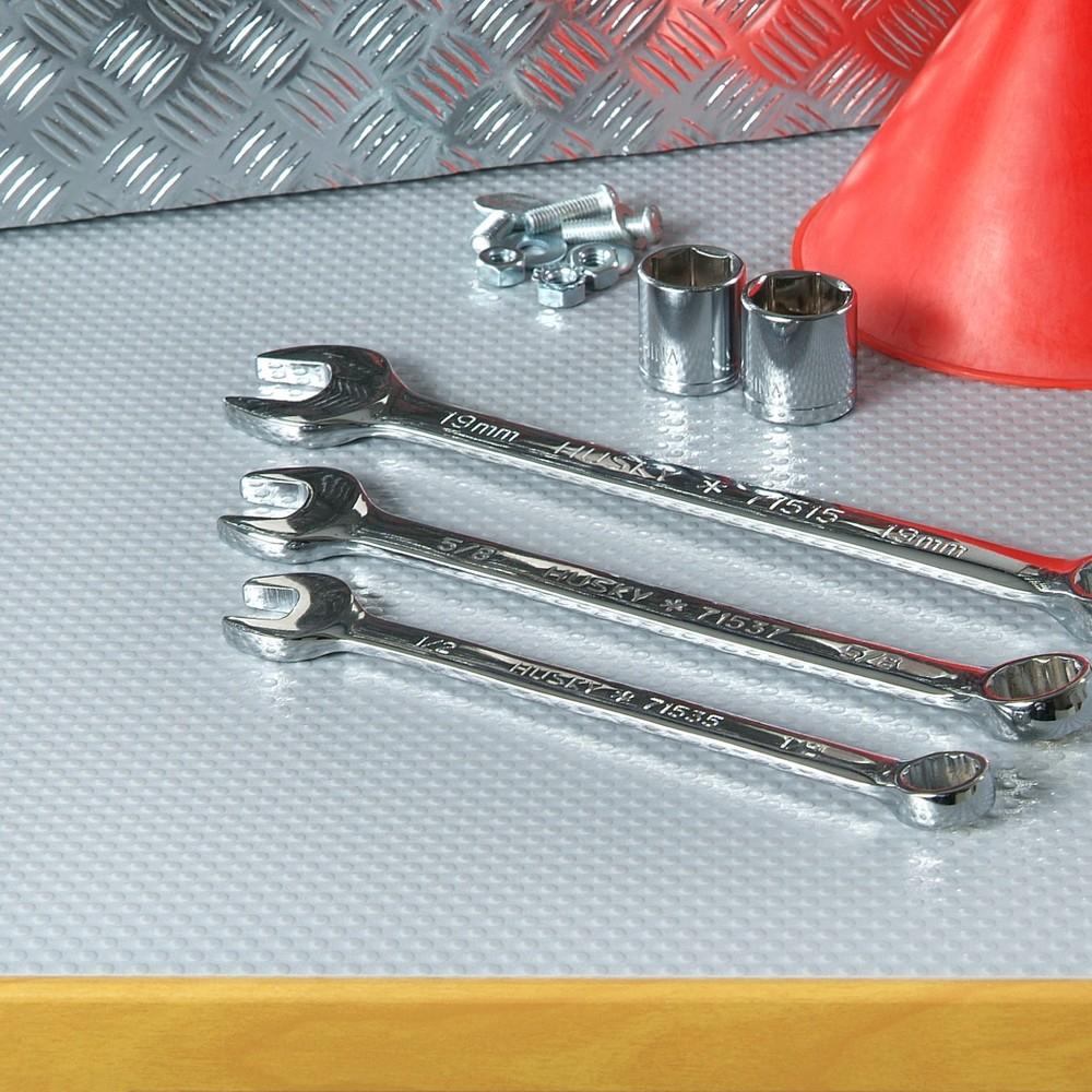 Con-Tact Brand Embossed Grip Premium Non-Adhesive Shelf Liner - Gray