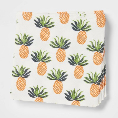 20ct Paper Pineapple Cocktail Napkins - Opalhouse™