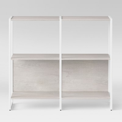 35  Paulo 2 Shelf Bookcase White - Project 62™