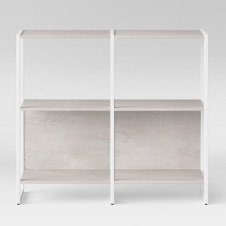 "35"" Paulo 2 Shelf Bookcase White - Project 62™"