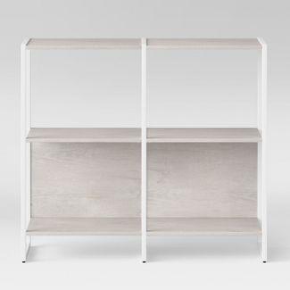 """35"""" Paulo 2 Shelf Bookcase White - Project 62™"""