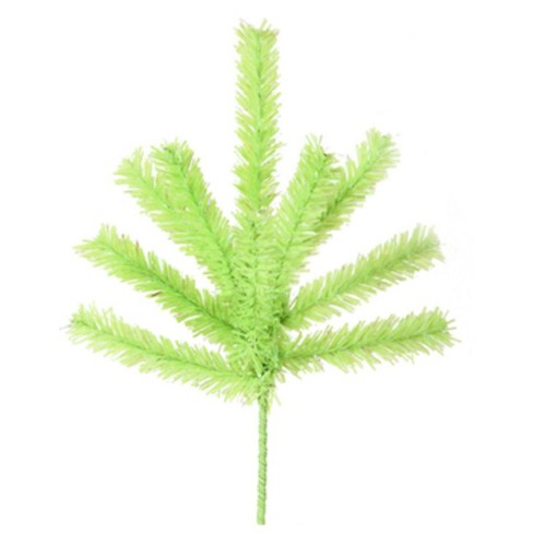 """Vickerman 7"""" Chartreuse Green Artificial Christmas Craft Pick - image 1 of 1"""
