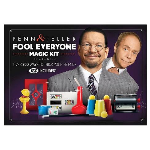 Penn & Teller Fool Everyone Magic Kit Board Game