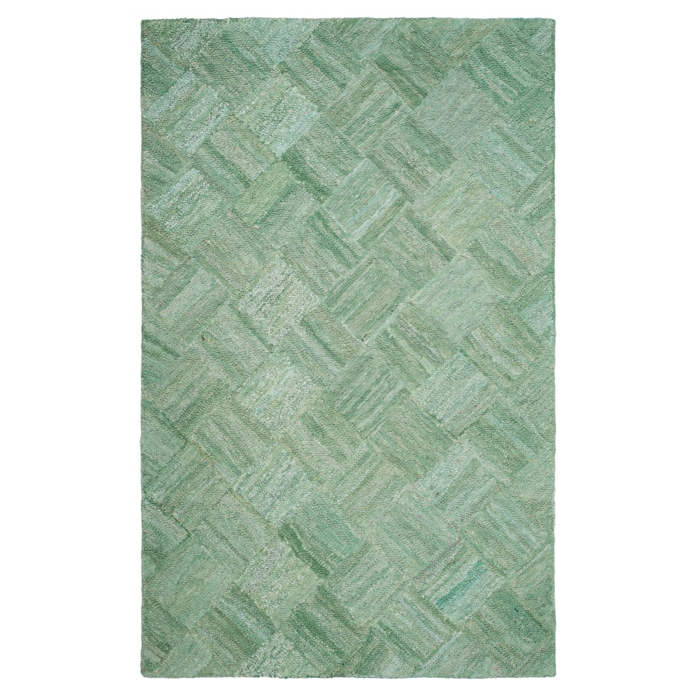 Reed Area Rug Green6'x9' - Safavieh, Multicolored Green