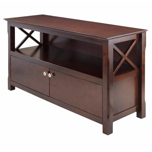Xola Tv Stand Cappuccino Winsome Target