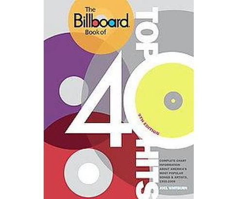 Billboard Book of Top 40 Hits (Revised / Expanded) (Paperback) (Joel Whitburn) - image 1 of 1