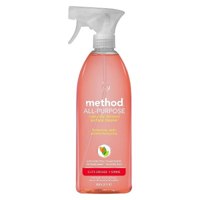 Method Cleaning Products APC Honeycrisp Apple Spray Bottle 28 fl oz