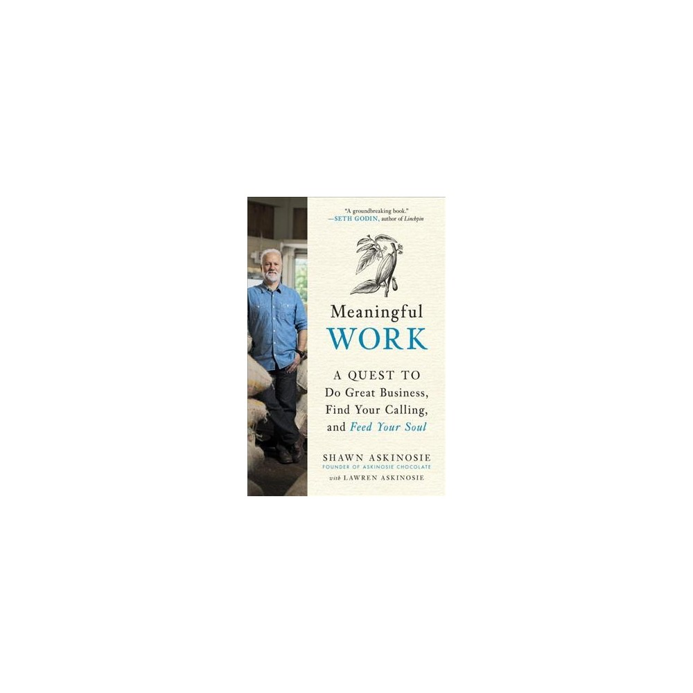 Meaningful Work : A Quest to Do Great Business, Find Your Calling, and Feed Your Soul - (Hardcover)