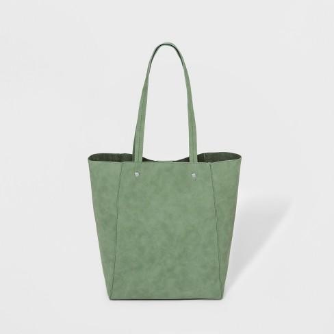 2677c34e8bb7 Unlined Tote Handbag - Universal Thread™ Green : Target