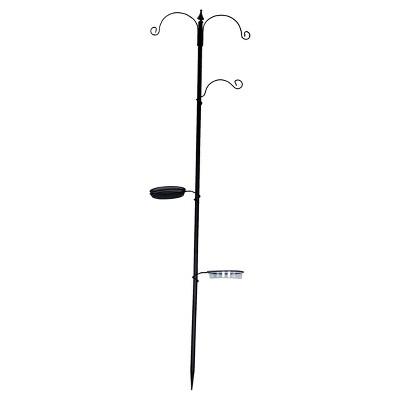 21 x8 x77  Metal Multi hook Bird Feeding Station by Backyard Expressions®