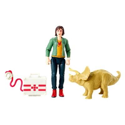 Jurassic World Zia and Triceratops Figure 2pk