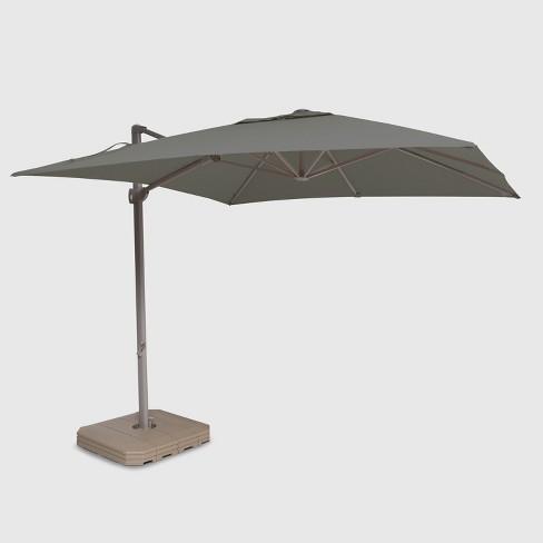 10' Square Offset Patio Umbrella Ash Pole - Project 62™ - image 1 of 3