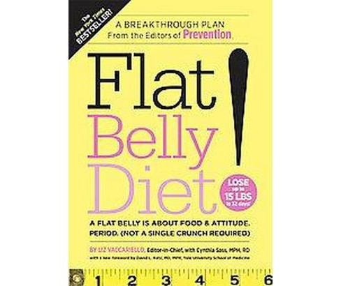 Flat Belly Diet! (Reprint) (Paperback) by Liz Vaccariello - image 1 of 1