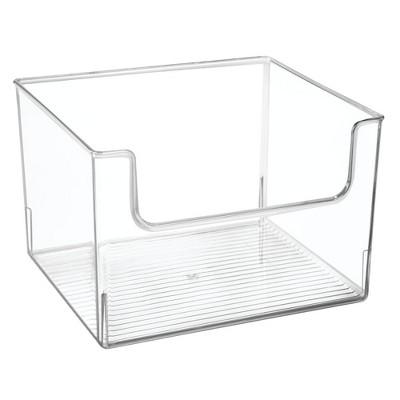 mDesign Plastic Food Storage Organizer Bin for Kitchen