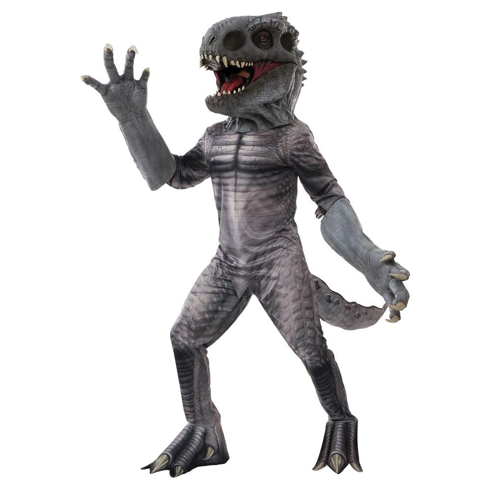 Jurassic World Men's Indominus Rex Creature Reacher Costume, Brown