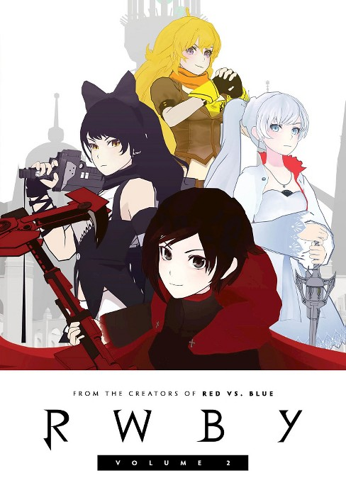 Rwby:Vol 2 (DVD) - image 1 of 1