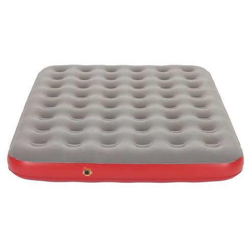 Coleman QuickBed Single High Mattress Queen - Gray/Red - image 1 of 5