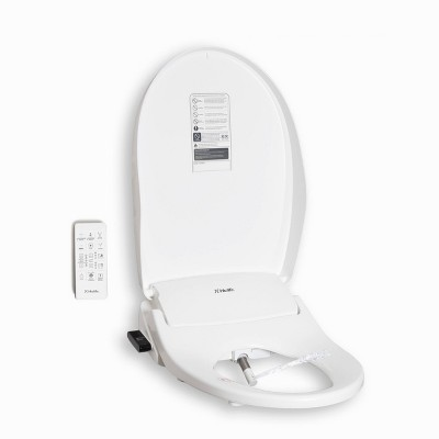 HLB-3000ER Electric Bidet Seat for Elongated Toilets White - Hulife
