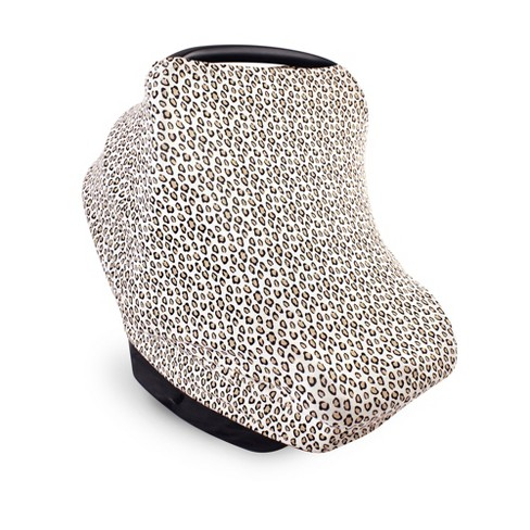 Little Treasure Baby Girl Multi-use Car Seat Canopy, Leopard, One Size - image 1 of 1