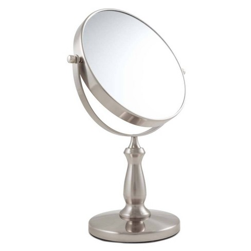 Zadro Two-Sided Swivel Vanity Mirror - 1X & 8X Magnification - image 1 of 4