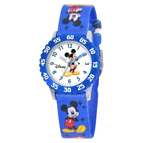 Boys' Disney Mickey Mouse Watch - Blue - image 1 of 1