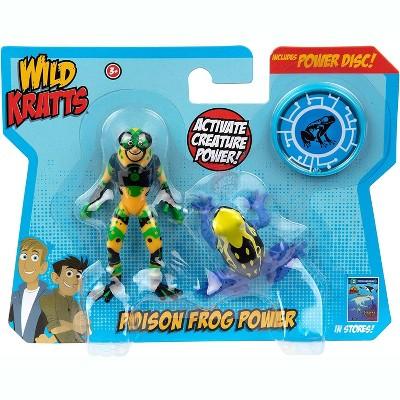 Jazwares Wild Kratts Creature Power Action Figure Toys - Poison Dart Frog Power, Set of 2