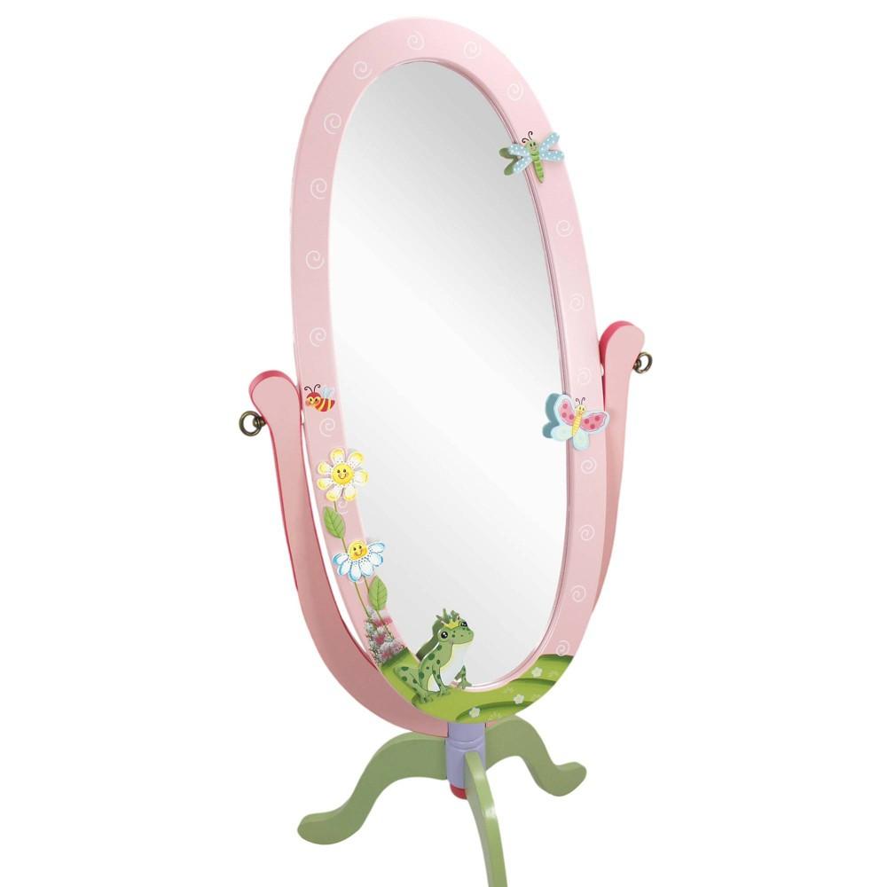 Image of Magic Garden Fantasy Fields Standing Mirror - Teamson Kids