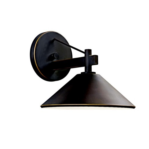 """Kichler 49060 Ripley Collection 1 Light 9"""" Outdoor Wall Light - image 1 of 1"""