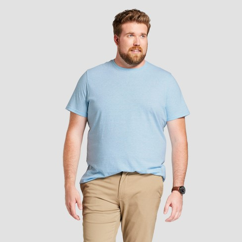 Men's Big & Tall Basic Fit Short Sleeve T-Shirt - Goodfellow & Co™ - image 1 of 3