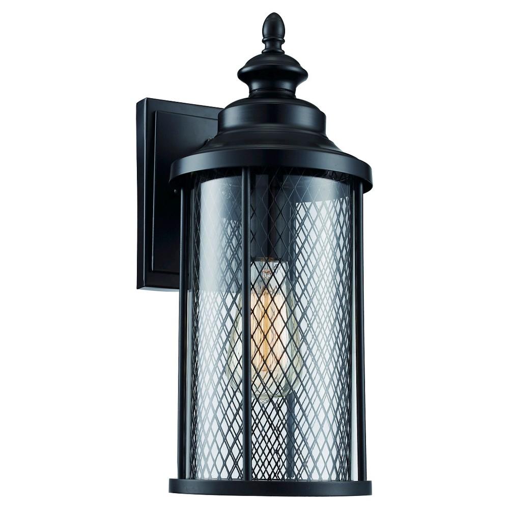 Image of Bel Air Lighting Outdoor Wall Light Black