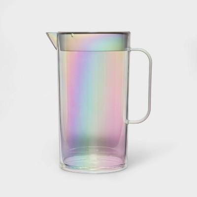 82oz Plastic Iridescent Beverage Pitcher - Sun Squad™