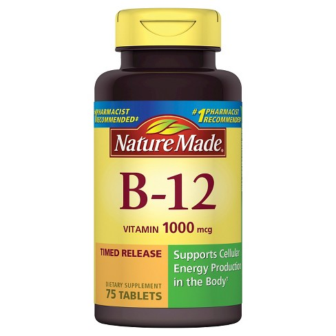 Nature Made B12 Dietary Supplement Tablets - image 1 of 2