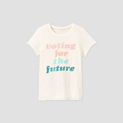 Women's Voting For The Future Short Sleeve Graphic T-Shirt