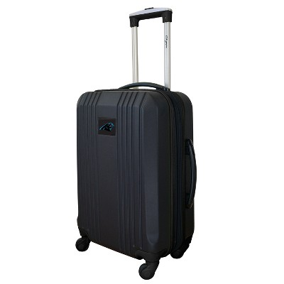 """NFL 21"""" Hardcase Two-Tone Spinner Carry On Suitcase"""