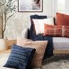 Woven Textured Square Throw Pillow - Threshold™ designed with Studio McGee - image 2 of 4