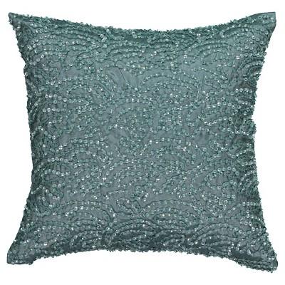 Blue Avignon Sequin Throw Pillow - Beautyrest®