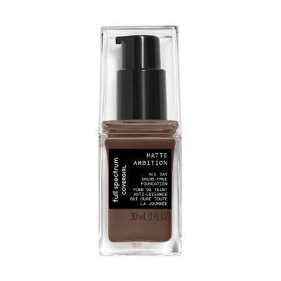 Face Makeup: Covergirl Matte Ambition Liquid Foundation