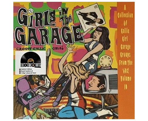 Various - Girls In The Garage:Groovy Gallic V10 (Vinyl) - image 1 of 1