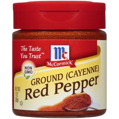McCormick Ground Cayenne Red Pepper - 1oz - image 1 of 3