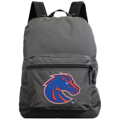 NCAA Boise State Broncos Gray Premium Backpack