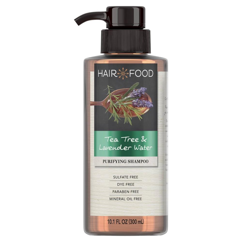 Image of Hair Food Tea Tree & Lavender Sulfate-Free Dye-Free Purifying Shampoo - 10.1 fl oz